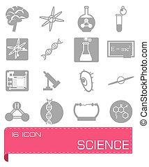 Vector Science icon set
