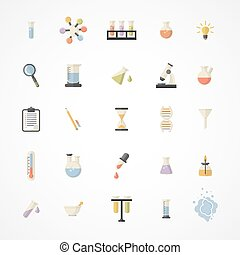 Vector Science Web Icons