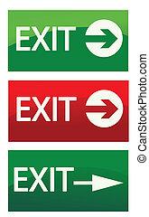 vector, señales de salida