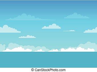 Vector Sea Background