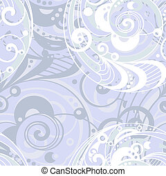 vector seamless abstract light background with spirals, clipping mask