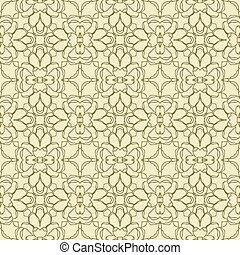 Vector seamless abstract pattern. Template for design