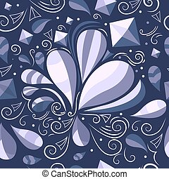 Vector seamless abstract pattern.