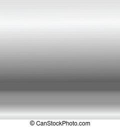 Vector simple seamless aluminum texture, eps10