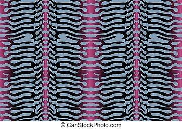 Vector seamless animal pattern.