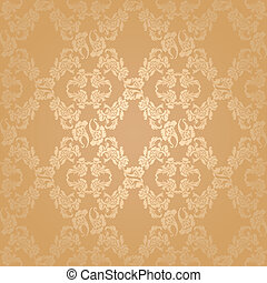 Vector seamless background flowers