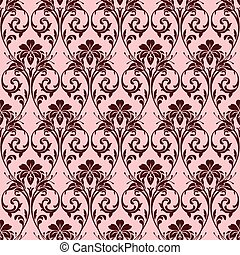 Vector Seamless Background Pattern - Repeating vector ...