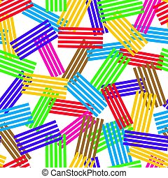 vector seamless background pattern. texture of abstract colorful stripes