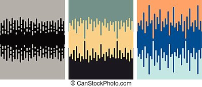 vector seamless background pattern with geometric shapes