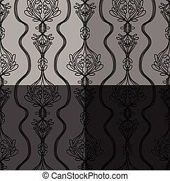 Vector Seamless Background Patterns
