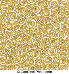 Vector seamless background - rope spiral design