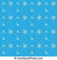 Vector seamless background with snowflakes, winter pattern, Christmas background for greeting cards, invitations, congratulations, websites and print.