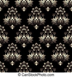 Vector - Seamless baroque background