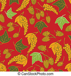 vector seamless berries