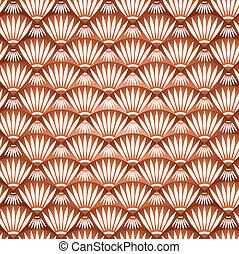Vector seamless brown wallpaper