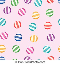 vector seamless candy background pattern