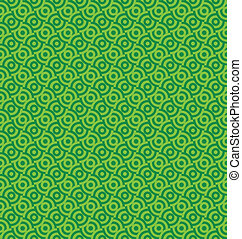 Vector seamless circle pattern