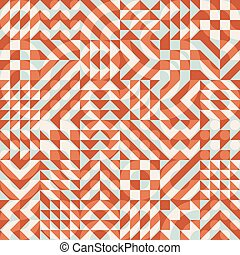 Vector Seamless Color Overlay Irregular Geometric Blocks...