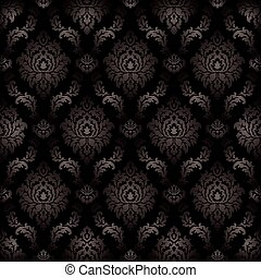 Vector - Seamless damask pattern