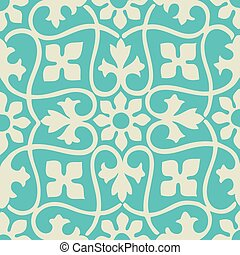 seamless floral pattern colorful