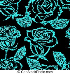 pattern from roses