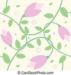 seamless flower background