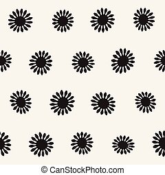 Vector seamless freehand pattern.