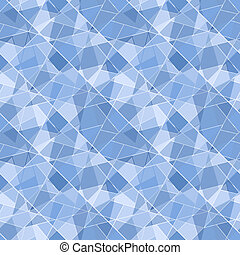 Vector seamless geometric brilliant pattern - abstract background for design