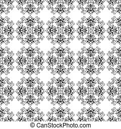 Vector seamless geometric pattern