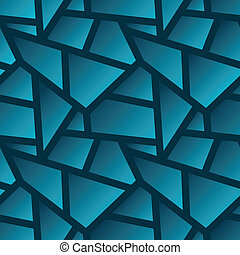 Vector seamless geometric poligonal pattern - abstract background for design with gradients