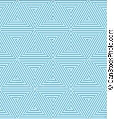 Vector Seamless Geometric Retro Pattern