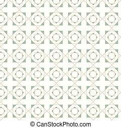 Vector seamless geometric tiles pattern