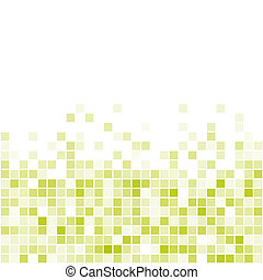 Vector Seamless Green Tiles