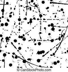 Vector seamless grunge modern pattern.