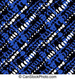 Vector seamless grunge plaid pattern