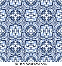 Vector Seamless Guilloche Background - Blue Vector Seamless ...