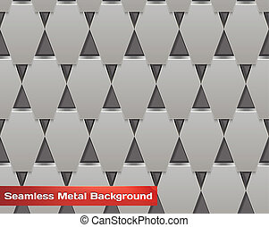 Vector Seamless Metal Background