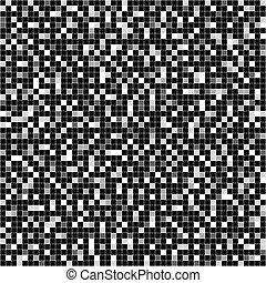 Vector seamless mosaic