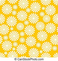 Vector seamless napkin background with flowers