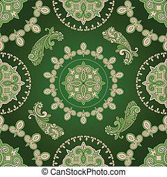 vector seamless paisley pattern