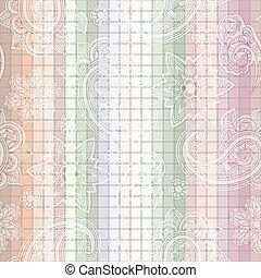 vector seamless  paisley tile pattern
