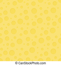 Vector seamless pattern - abstract cheese background