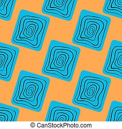 Vector seamless pattern. Abstract