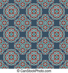 Vector seamless pattern. Abstract stylish background