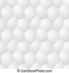 Vector seamless pattern - chaotic modern volume poligonal backgr