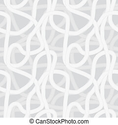 Vector seamless pattern - Continuous interlocking shapes...