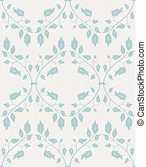 Vector seamless pattern. Floral background.