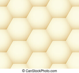 Vector seamless pattern - geometric honeycomb like simple modern volume background