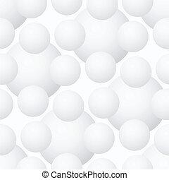 Vector seamless pattern - geometric volume modern background