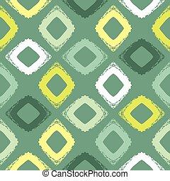 Vector seamless pattern. Grunge hand-drawn retro texture.